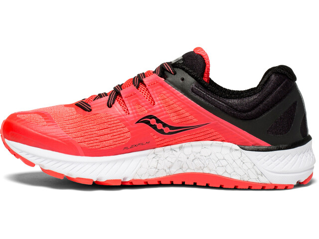 d2220bea2fb saucony Guide ISO - Chaussures running Femme - orange rouge sur CAMPZ !